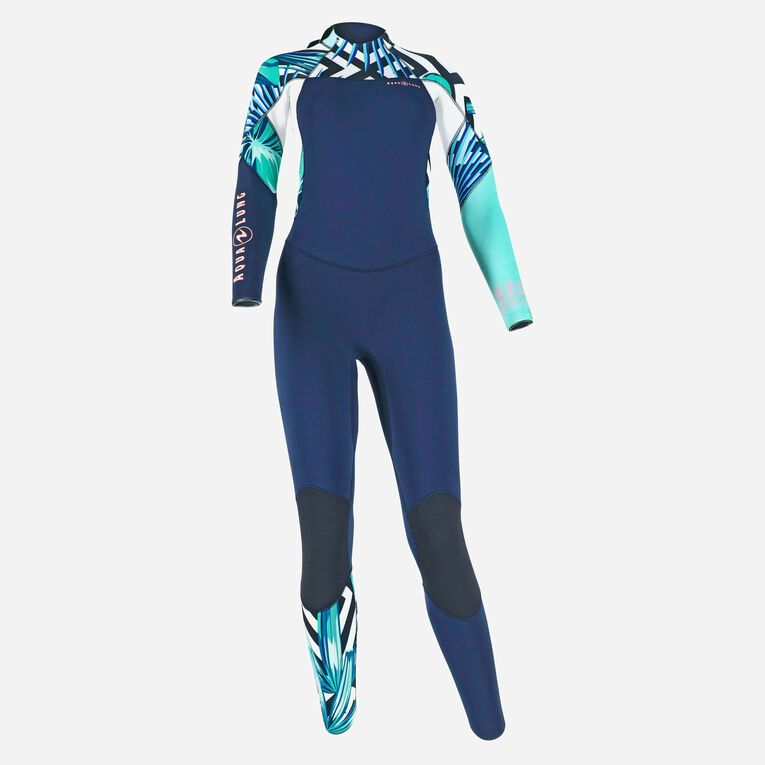 Xscape 4/3mm Wetsuit - Women, Navy blue/Multicolor, hi-res image number null