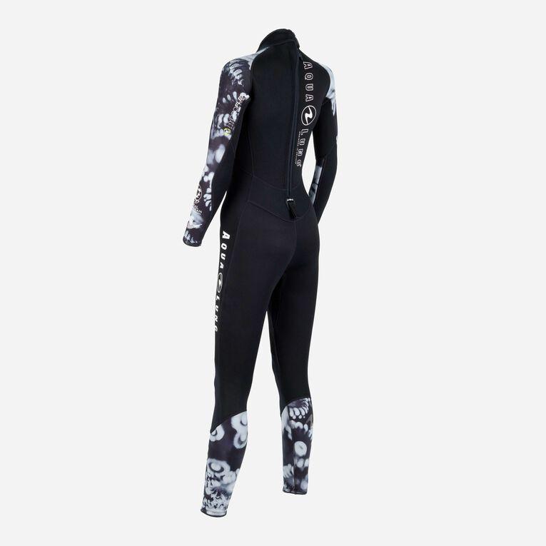 HydroFlex Coral Guardian 3mm Wetsuit Women, Black/White, hi-res image number 3
