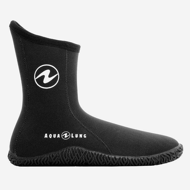 5mm Echozip Boots, Black/Blue, hi-res image number 1