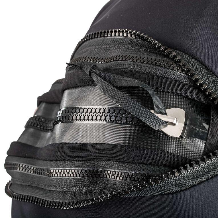 Fusion Bullet Drysuit, Black/Blue, hi-res image number 1