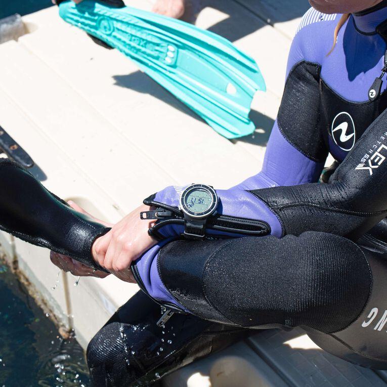 DynaFlex 5.5mm Wetsuit Women, Black/Purple, hi-res image number null