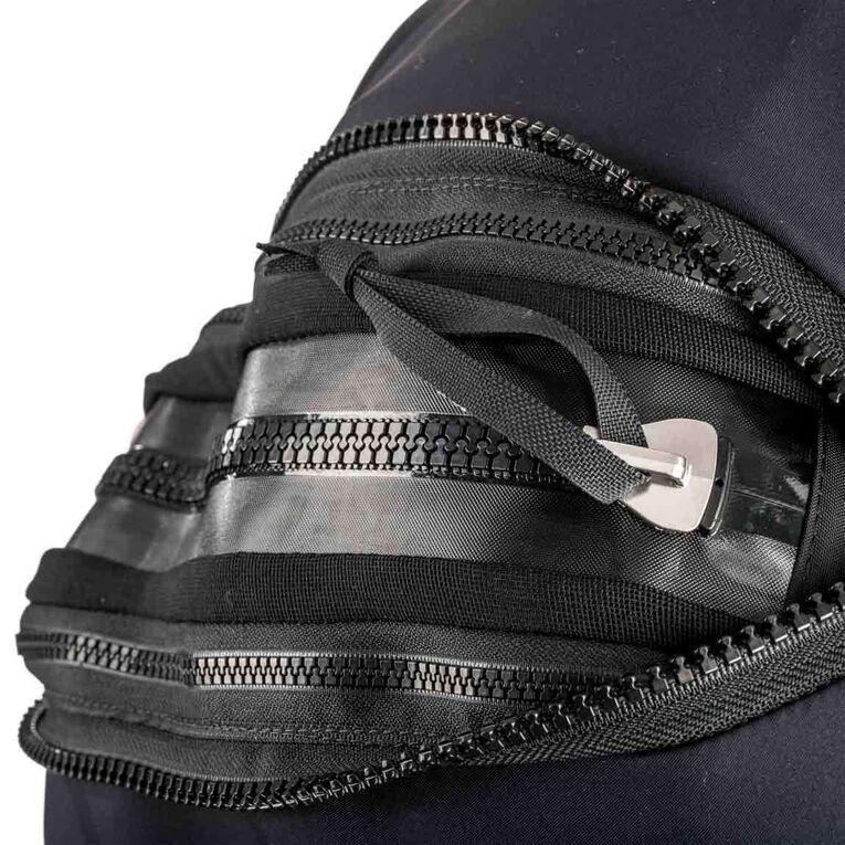 Fusion Fit Drysuit - Women's, Black/Twilight, hi-res image number 3