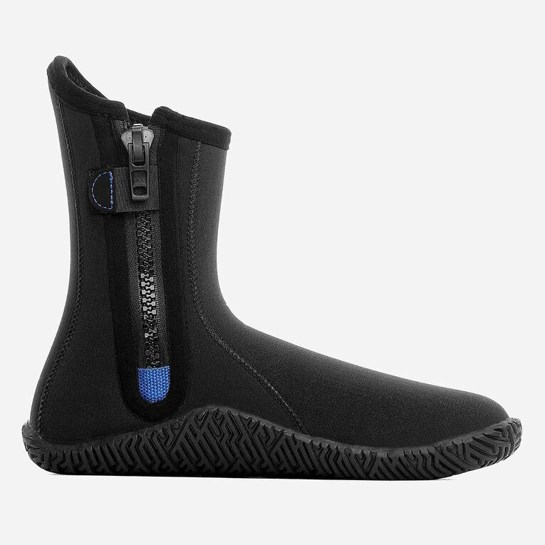 3mm Echozip Boots, Black/Blue, hi-res image number null