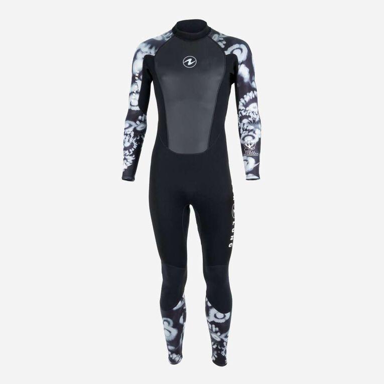 HydroFlex 3mm Coral Guardian Wetsuit Men, Black/White, hi-res image number 0