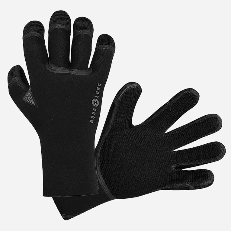 3mm Heat Gloves, Black, hi-res image number null