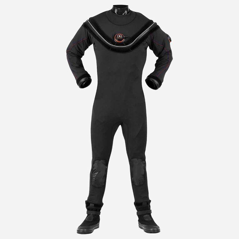 Fusion Sport Drysuit, Black/Orange, hi-res image number null