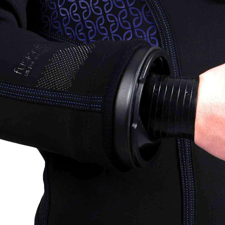 Fusion Fit Drysuit - Women's, Black/Twilight, hi-res image number null