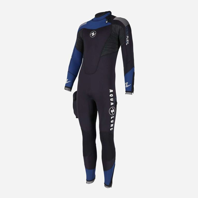 DynaFlex 5.5mm Wetsuit Men, Black/Navy blue, hi-res image number null