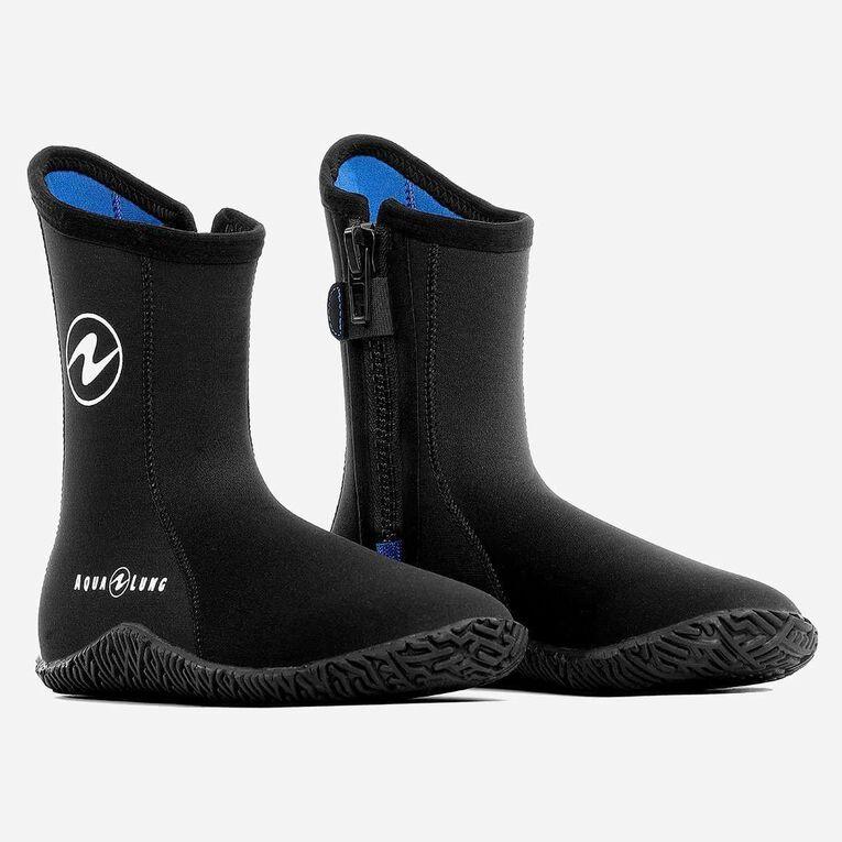 5mm Echozip Boots, Black/Blue, hi-res image number 0