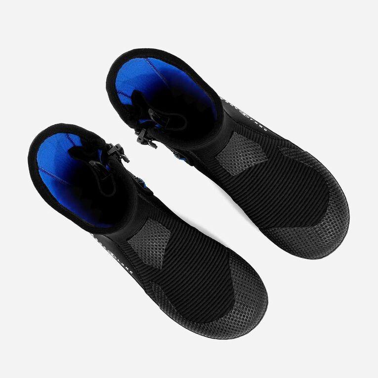 5mm Ultrazip Boots, Black/Blue, hi-res image number 7