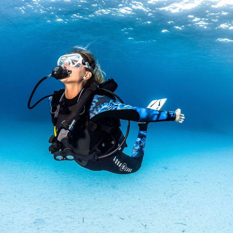 HydroFlex 1mm Coral Guardian Wetsuit Women, Black/Blue, hi-res image number 4