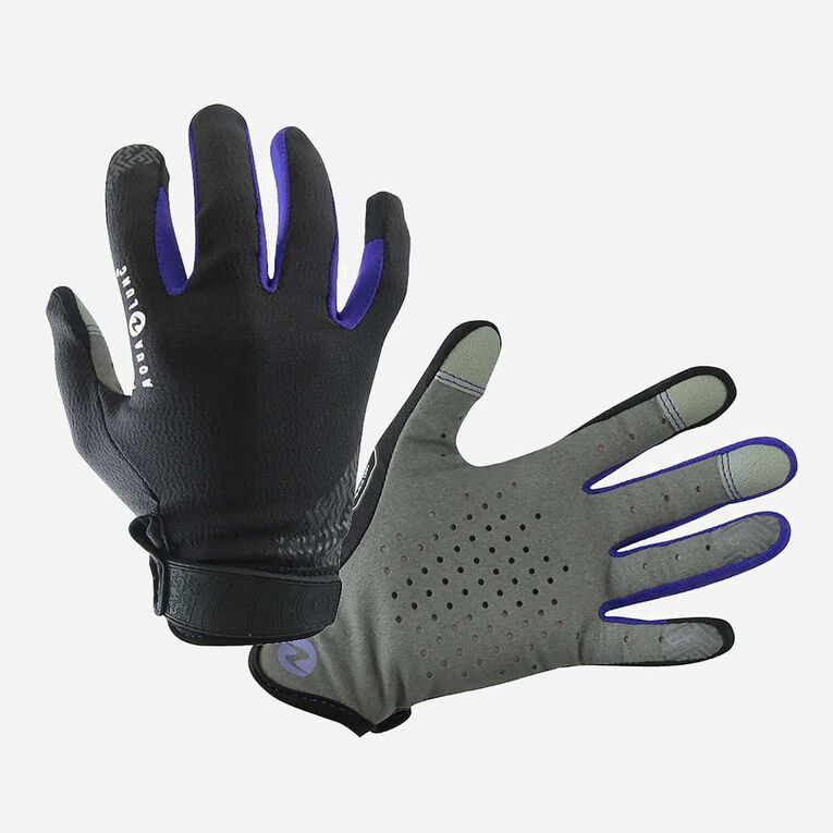 Cora Gloves, Black/Purple, hi-res image number null