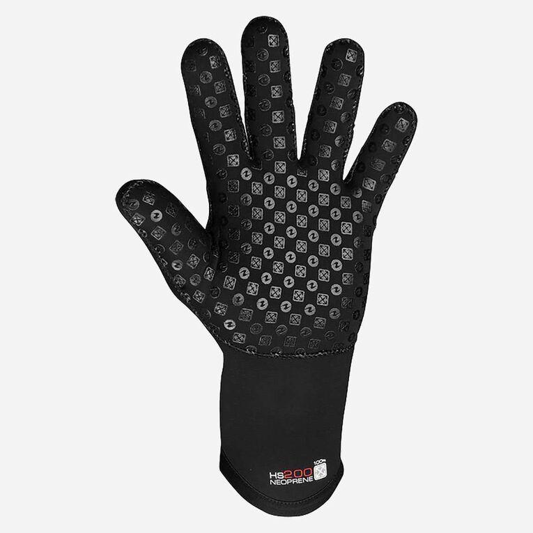 3mm Thermocline Flex Gloves, Black/Red, hi-res image number 2