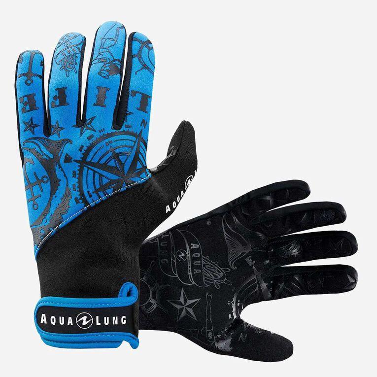 Admiral III 2mm Gloves, Black/Blue, hi-res image number 0