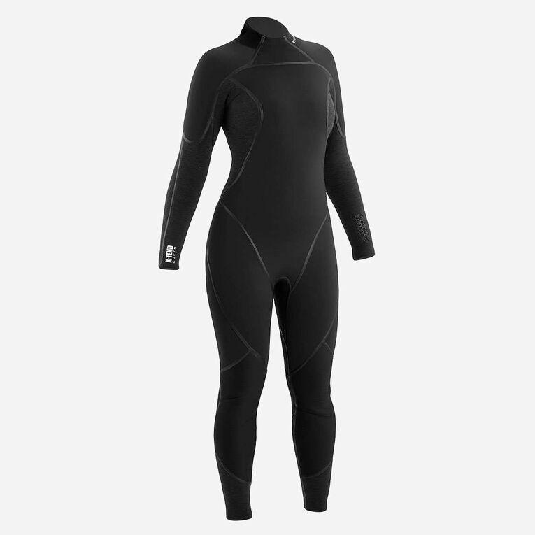 AquaFlex 3mm Wetsuit -Women, Black/Grey, hi-res image number 0