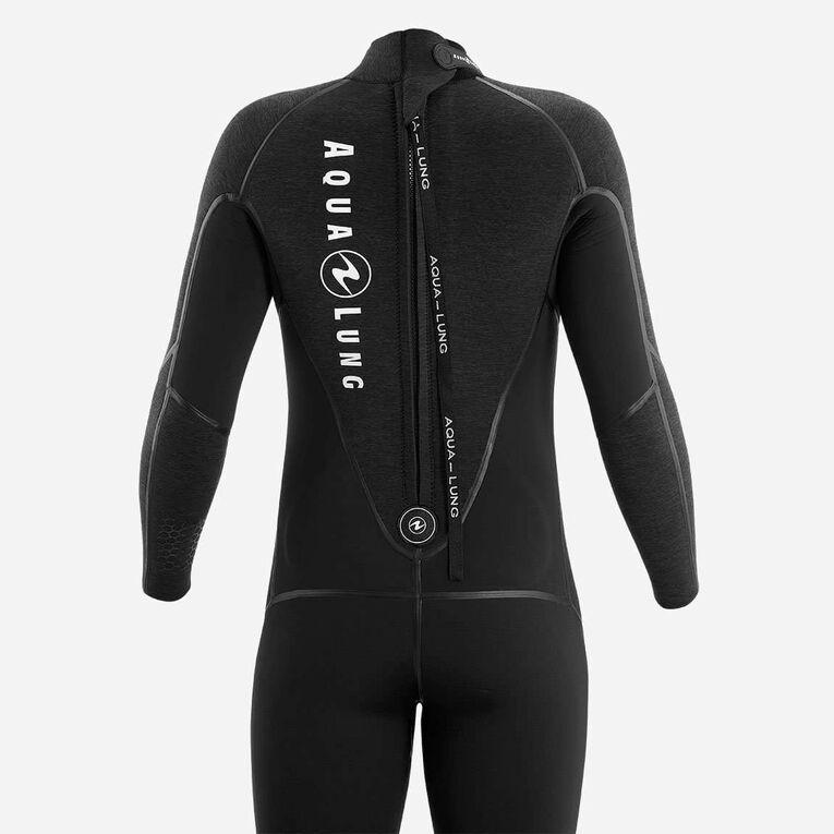 AquaFlex 7mm Wetsuit - Men, Black/Grey, hi-res image number 3