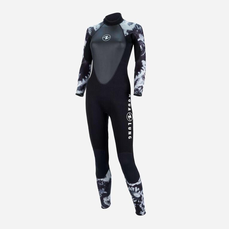 HydroFlex Coral Guardian 3mm Wetsuit Women, Black/White, hi-res image number 2