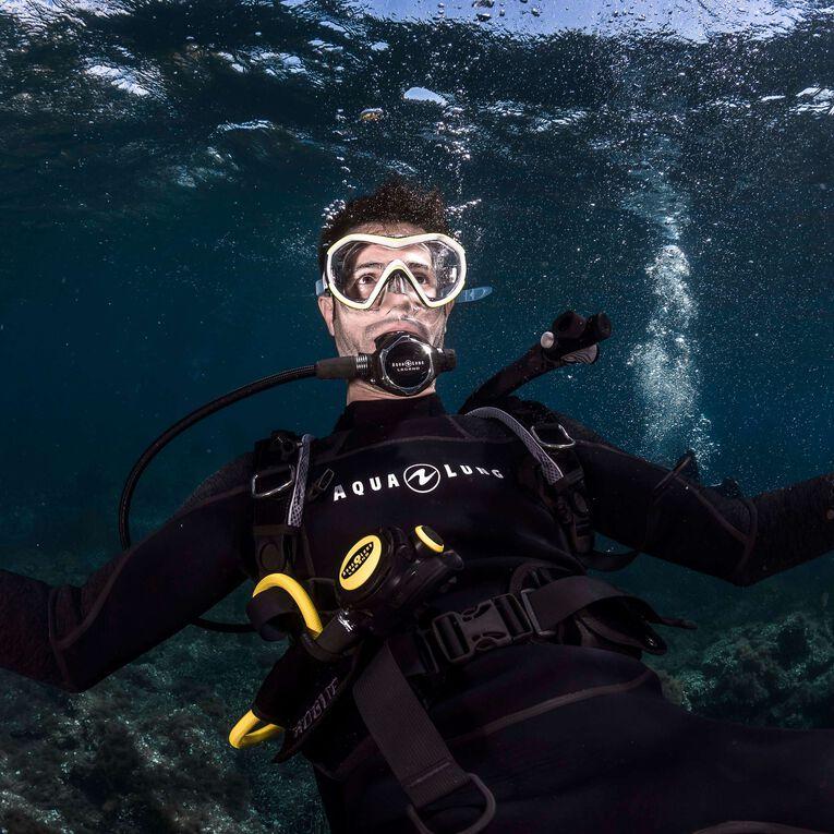 AquaFlex 3mm Wetsuit - Men, Black/Grey, hi-res image number 4
