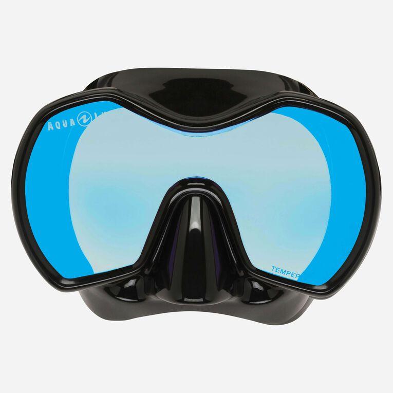Profile blue Mirror, Black/Lenses blue, hi-res image number 1