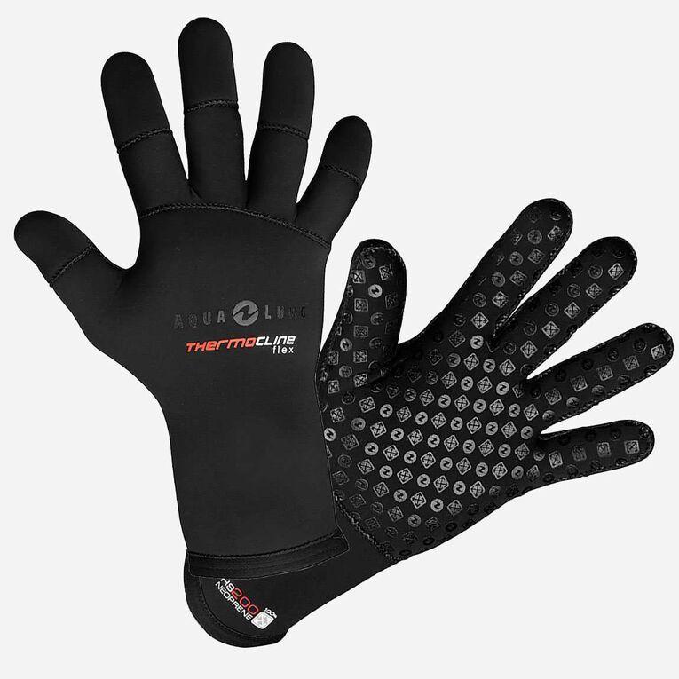 3mm Thermocline Flex Gloves, Black/Red, hi-res image number 0