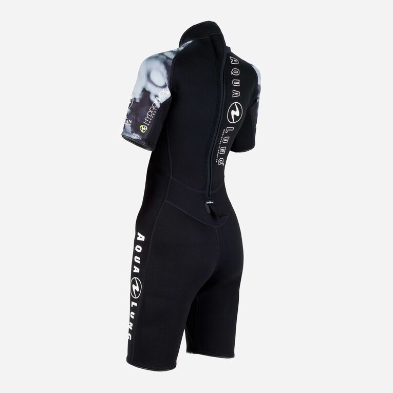 HydroFlex 3mm Coral Guardian Shorty Women, Black/White, hi-res image number 3
