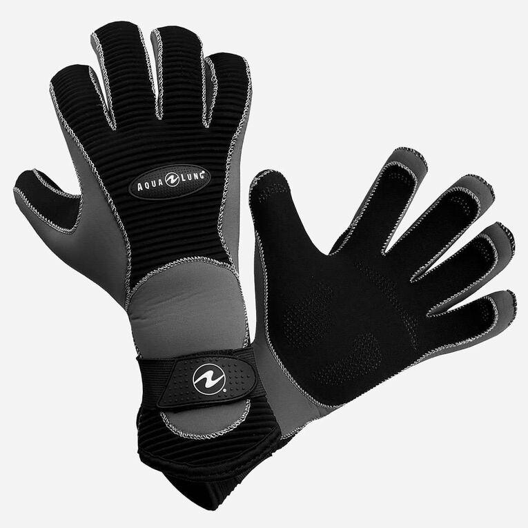 3mm Aleutian Gloves, Black/Grey, hi-res image number 0
