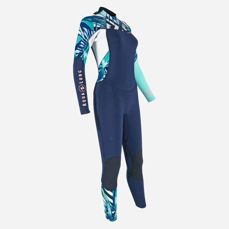 Xscape 4/3mm Wetsuit - Women, Navy blue/Multicolor, hi-res image number 1