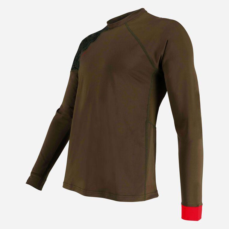 Xscape Rashguard Loose fit Long sleeves - Men, Dark green/Red, hi-res image number 2