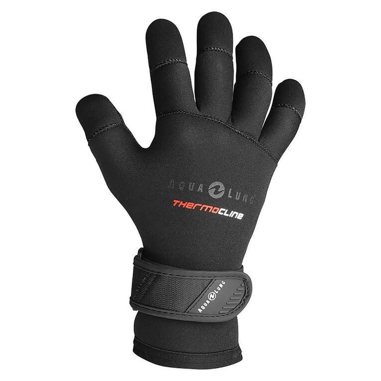 3mm Thermocline Gloves, Black, hi-res image number null