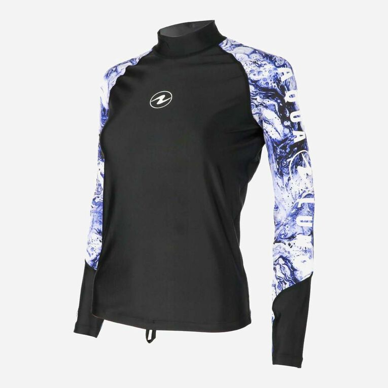 Aqua Rashguard Long Sleeve - Women, , hi-res image number null
