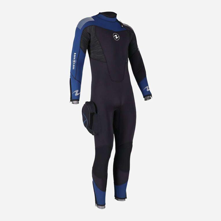 DynaFlex 5.5mm Wetsuit Men, Black/Navy blue, hi-res image number null
