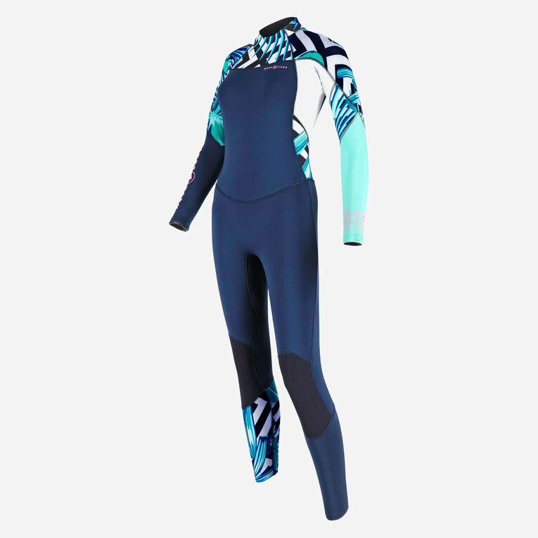 Xscape 4/3mm Wetsuit - Women, Navy blue/Multicolor, hi-res image number 2