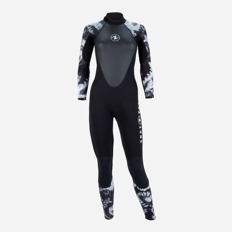 HydroFlex Coral Guardian 3mm Wetsuit Women, Black/White, hi-res image number 0