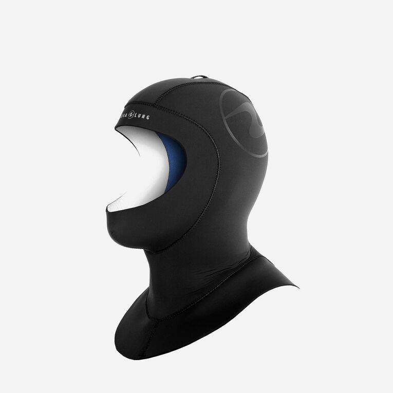 Seawave Flex 7/4mm Hood, Black/Blue, hi-res image number 1