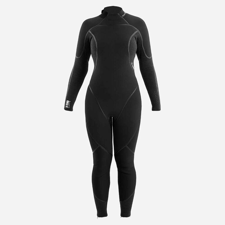 AquaFlex 3mm Wetsuit -Women, Black/Grey, hi-res image number 2