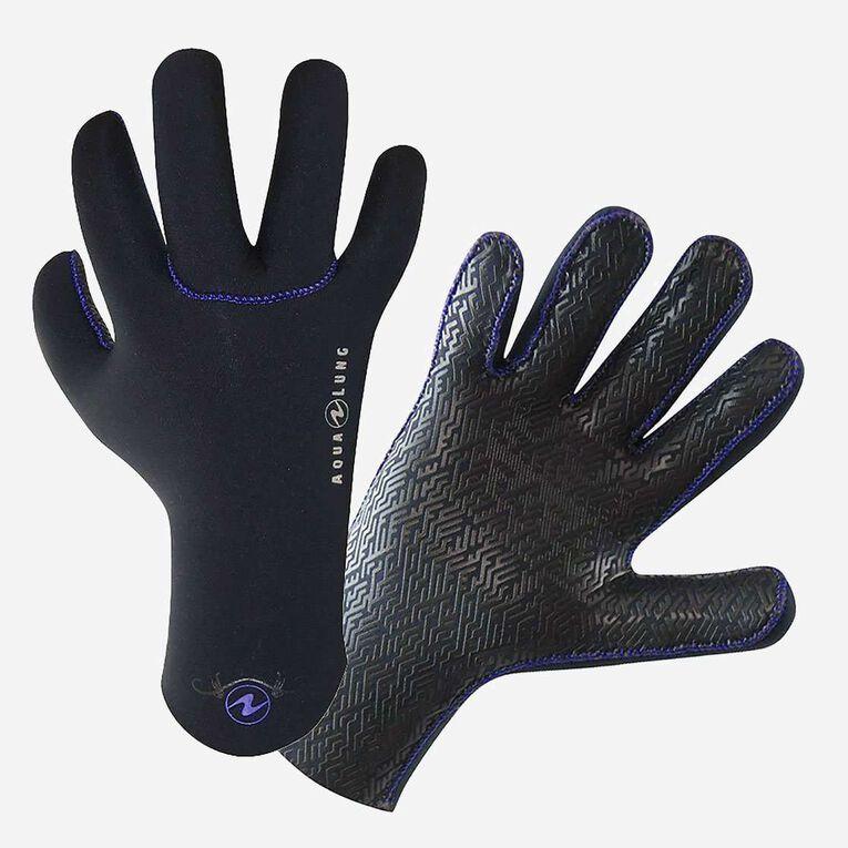 3/2mm Ava Gloves, Black/Purple, hi-res image number null