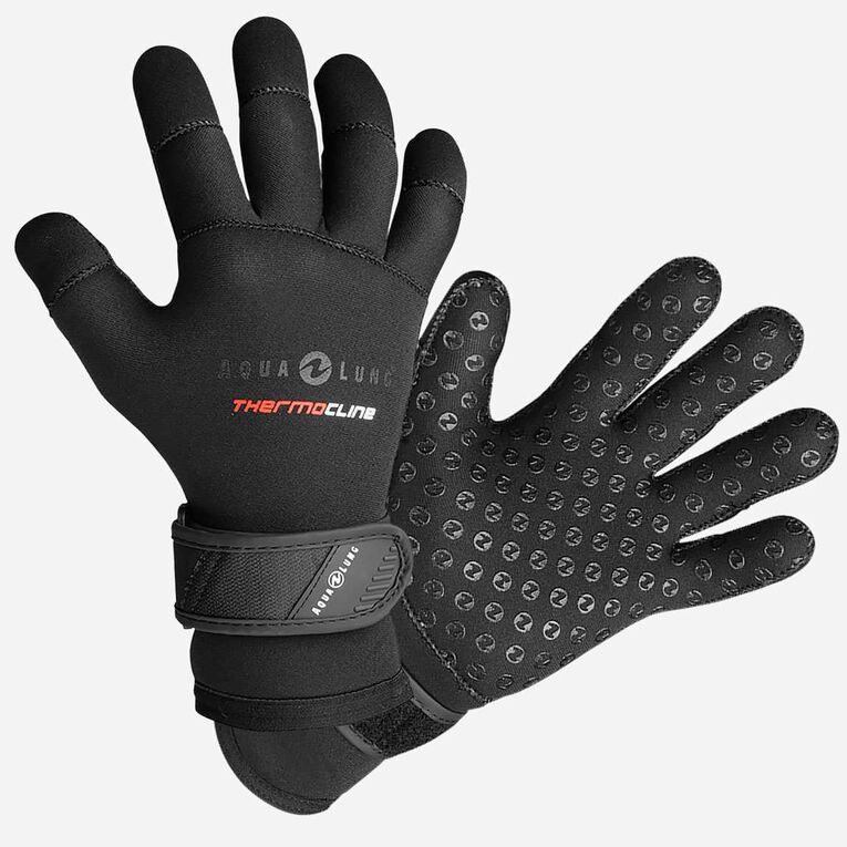 5mm Thermocline Gloves, Black, hi-res image number null