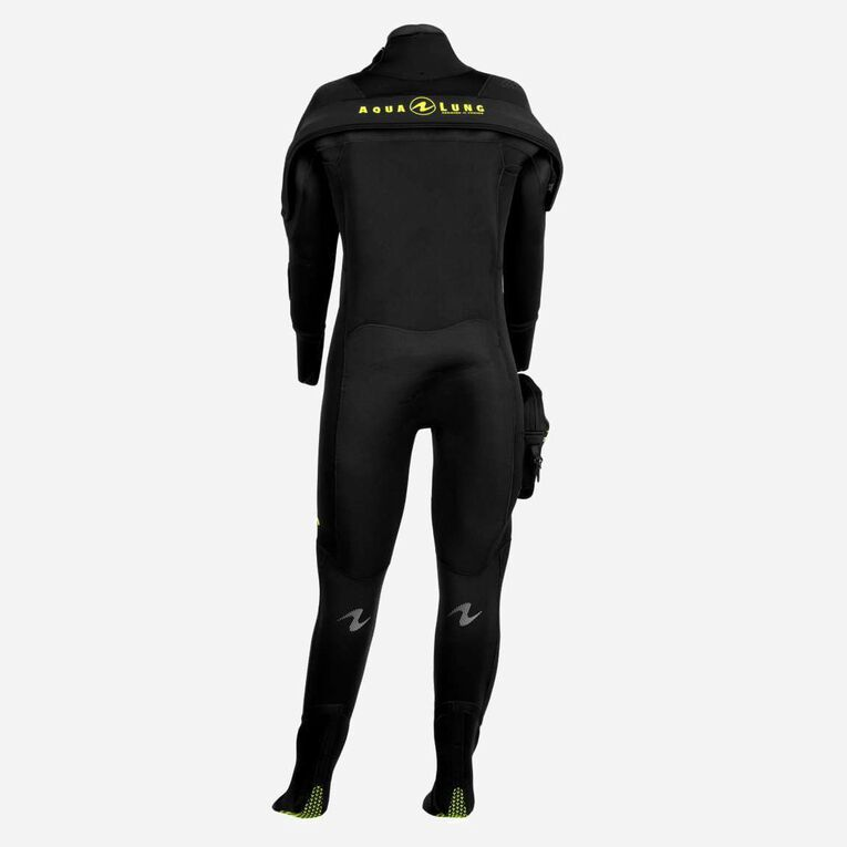 Blizzard Pro Drysuit, Black/Hot lime, hi-res image number null